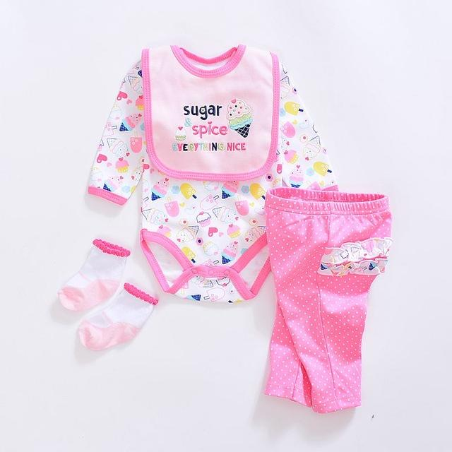 22465f8bc 2019 Cute Baby Girl Clothing Sets Cotton Fashion Cartoon Baby ...