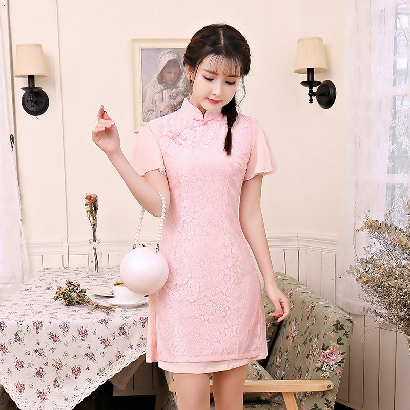 a6042c554a00 New Traditional Wedding Dress Cheongsam Bridal Gown Bridesmaid Dress  Evening Dress Embroidery Party Dresses Short Dresses Dresses For Formal  Dresses For ...