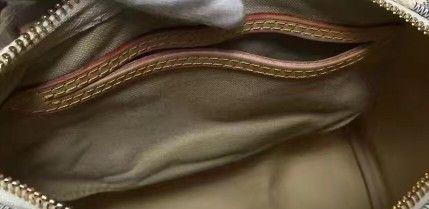 Classic Marca Speedy25 30 35 Bolsa de zíper do ombro com bloqueio Real oxidante de couro de couro Damier flor letra de flor de impressão travesseiro