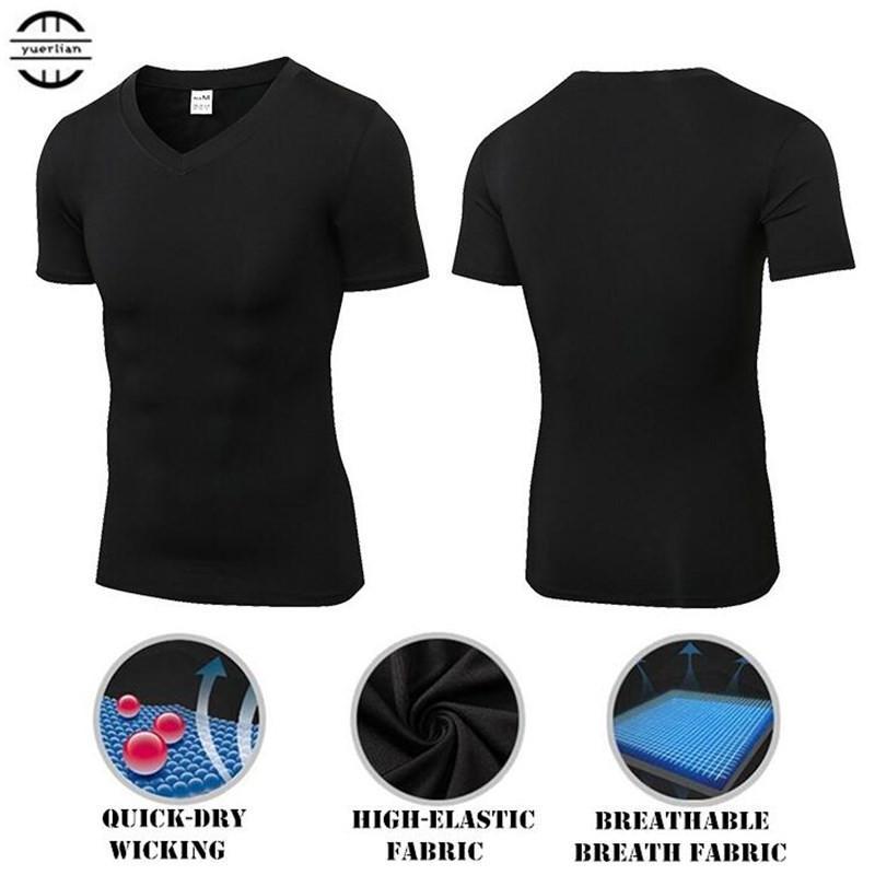 079f3f28c 2019 Men Wicking Quick Dry T Shirt