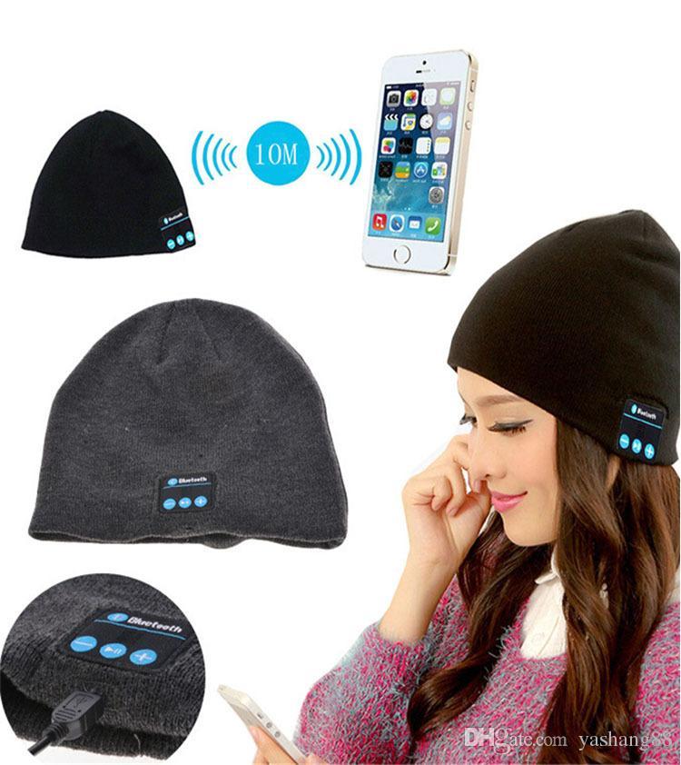 Acquista 2019 Più Nuovo Bluetooth Music Beanie Hat Cuffia Senza Fili Smart  Cap Cuffie Altoparlante Microfono Vivavoce Cappello Musica OPP Pacchetto  Borsa A ... f9a1f4cfc268