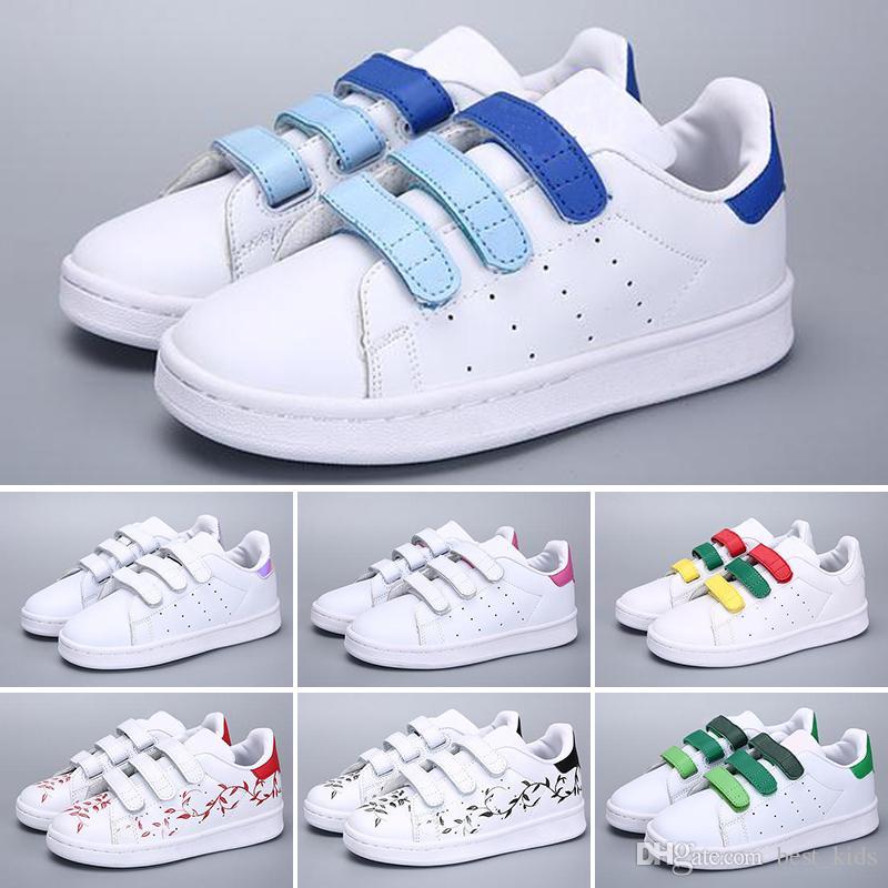 2473cc9c5 Compre Adidas Superstar Zapatos De Skate Para Bebés Zapatos De Niños  Superstar Zapatillas De Deporte Para Niños Niños Zapatillas Deportivas  Mujer Amantes ...