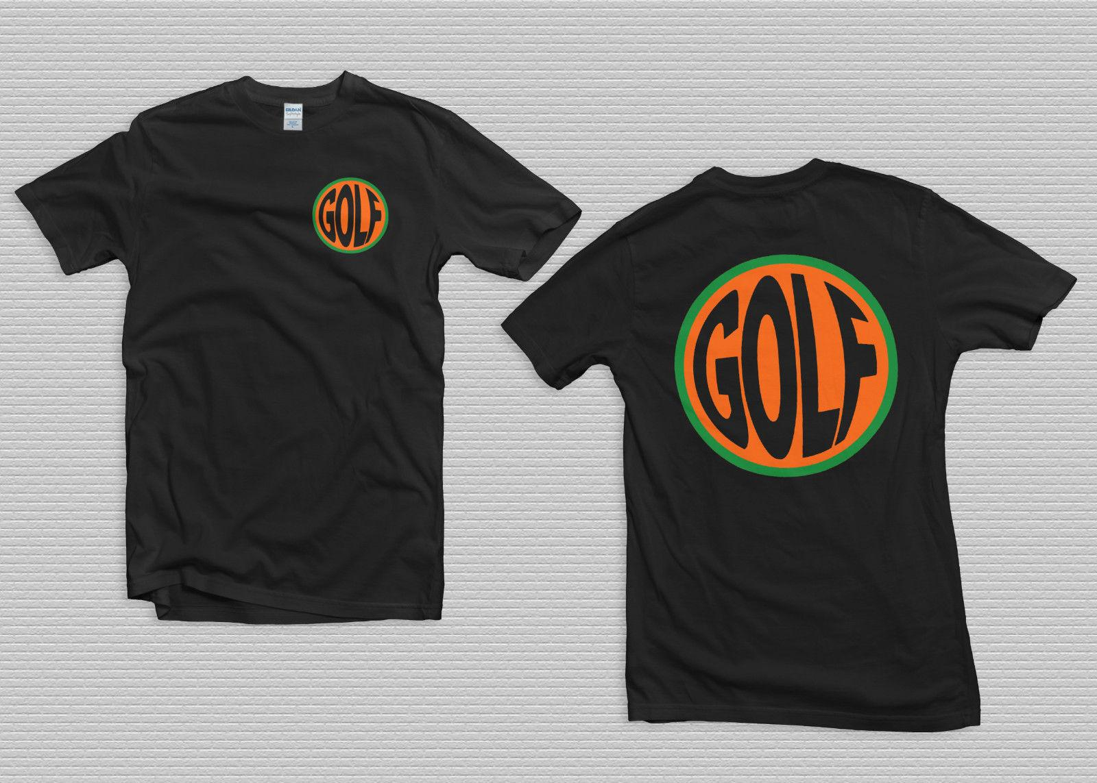 f19d04288f6f Golf Wang Fish Eye Tee Shirt Small Tyler The Creator Black Size S 2XL Summer  Hot Sale New Tee Print Men T Shirt Top 100% Cotton Cool Interesting T  Shirts T ...