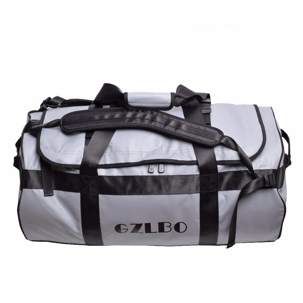 396c1dbe48f5 GZLBO 90L Popular PVC Waterproof Bag Grey Travel Bag Waterproof Duffel Bag  Online with  173.11 Piece on Bag80555 s Store