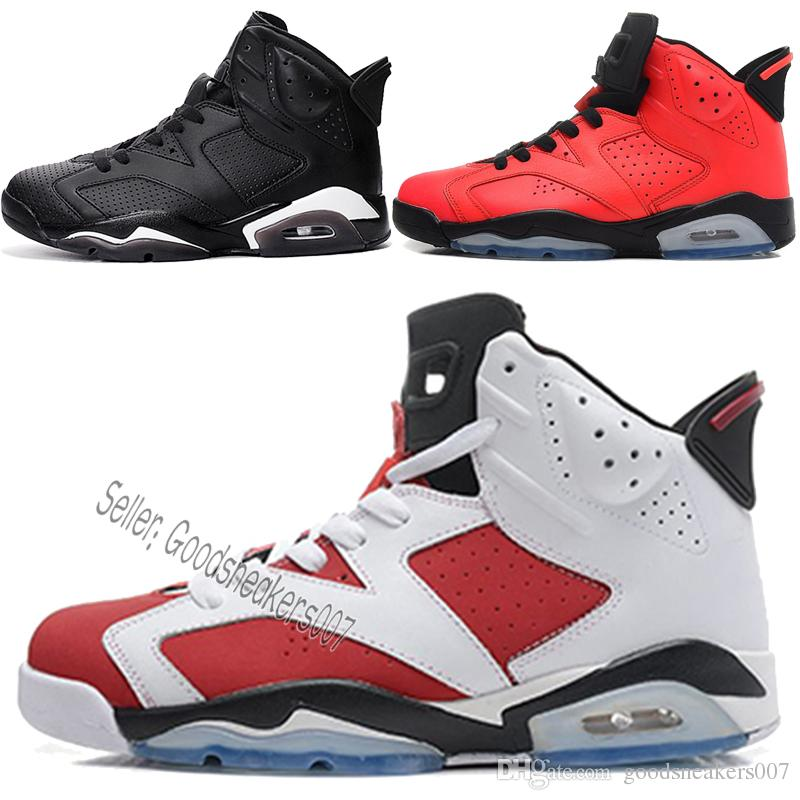 2019 Hot Sale 2016 Cheap Basketball Shoes Olympic Red Black Infrared  Carmine High Top Sneaker Sport Shoe For Online Sale 40 46 From  Goodsneakers007 0f0986437268