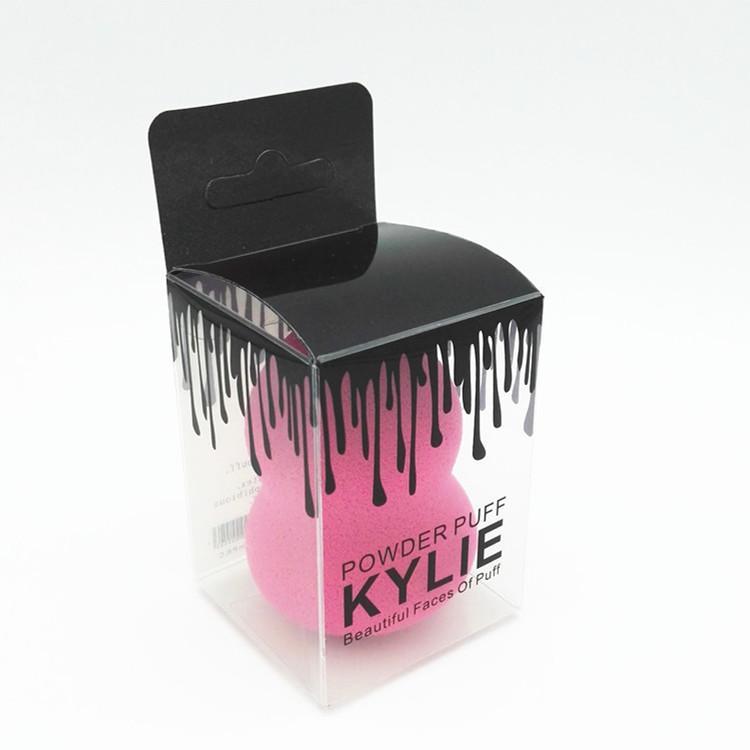 Maquillaje de belleza Cosméticos Fundación belleza del soplo de la esponja de es Licuadoras mezcla Maquillaje Con bolso al por menor de embalaje