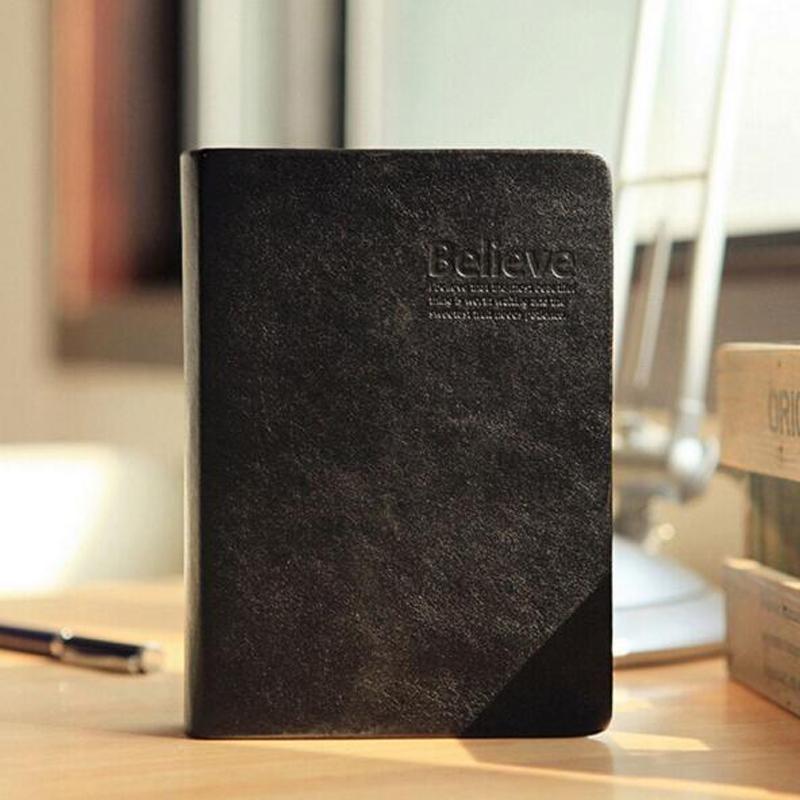 Office & School Supplies Notebooks & Schreibblöcke Vintage Dicken Papier Notebook Notizblock Leder Bibel Tagebuch Buch Zeitschriften Agenda Planer Schule Büro Schreibwaren Geschenk