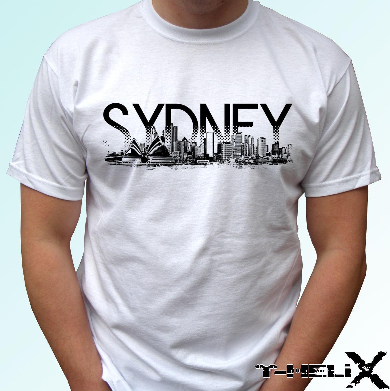 Sydney City T Shirt Top Australia Tee Design Mens Womens Kids Baby