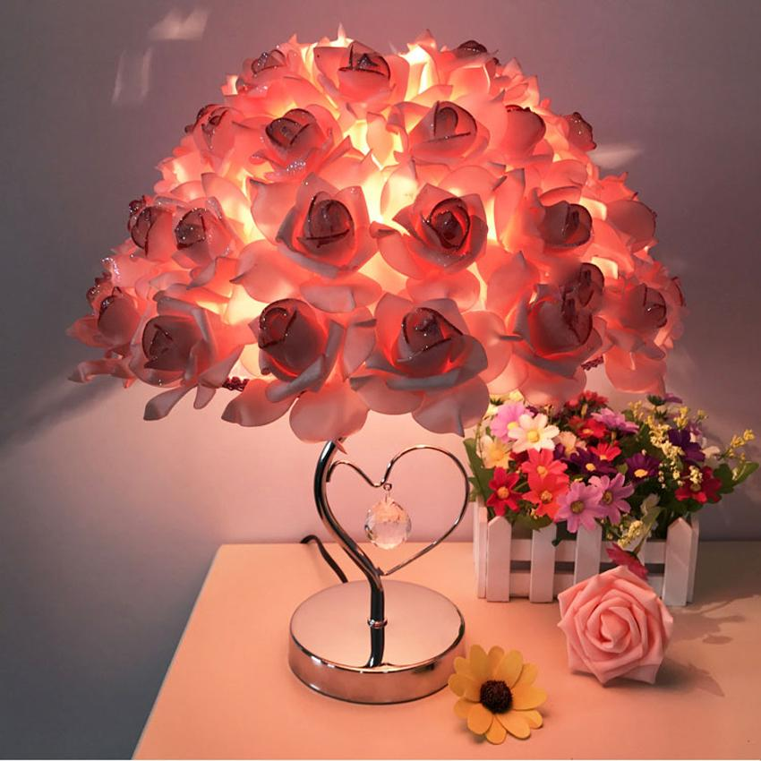 Wholesale-Modern Wedding Decoration Table Lamp Marriage Bedroom ...