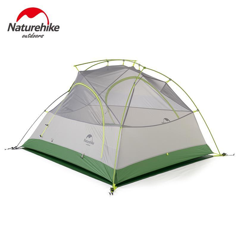 423104705 Compre 2019 Naturehike 2 Pessoa Barraca De Camping Ultraleve 20D Tecido De  Silicone De Dupla Camada Ao Ar Livre Mochila Caminhadas 2 Homem Tendas De  ...