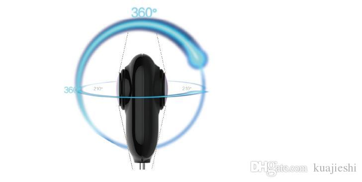 Cámara panorámica de 360 grados Cámara HD 4K HD de doble lente al aire libre transmisión en vivo al aire libre 3D 720. Cámara deportiva especial DV.