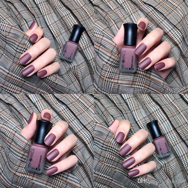 buy2send2 Nude Nail Polish Manicure Set Is Non Toxic And Durable ...