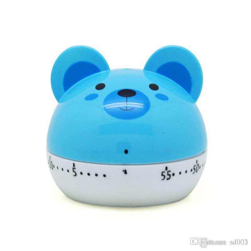 Cute Animal Shape Timers Multi Function Kitchen Mechanical Alarm Clock 60  Minutes Countdown Cooking Tool Easy Carry 5 21yy cc