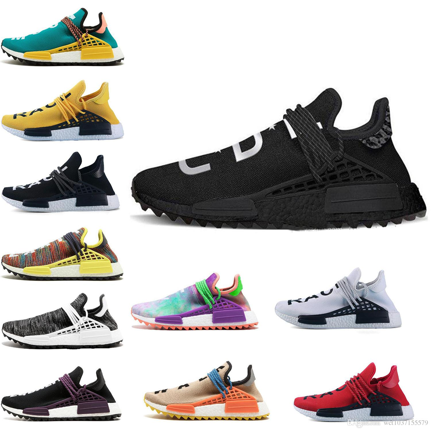 52d7efecf8e3c 2018 New Human Race NMD Pharrell Williams For Women Men Designer Trainers  Sneakers Nmds RUNNER Running Shoes 36 45 Men Running Shoes Best Running  Shoes From ...