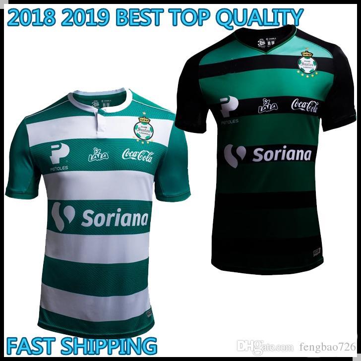 5f0d7d8aa 18 19 TOP QUALITY Santos Laguna Soccer Jersey 2018 2019 LIGA MX Jose ...
