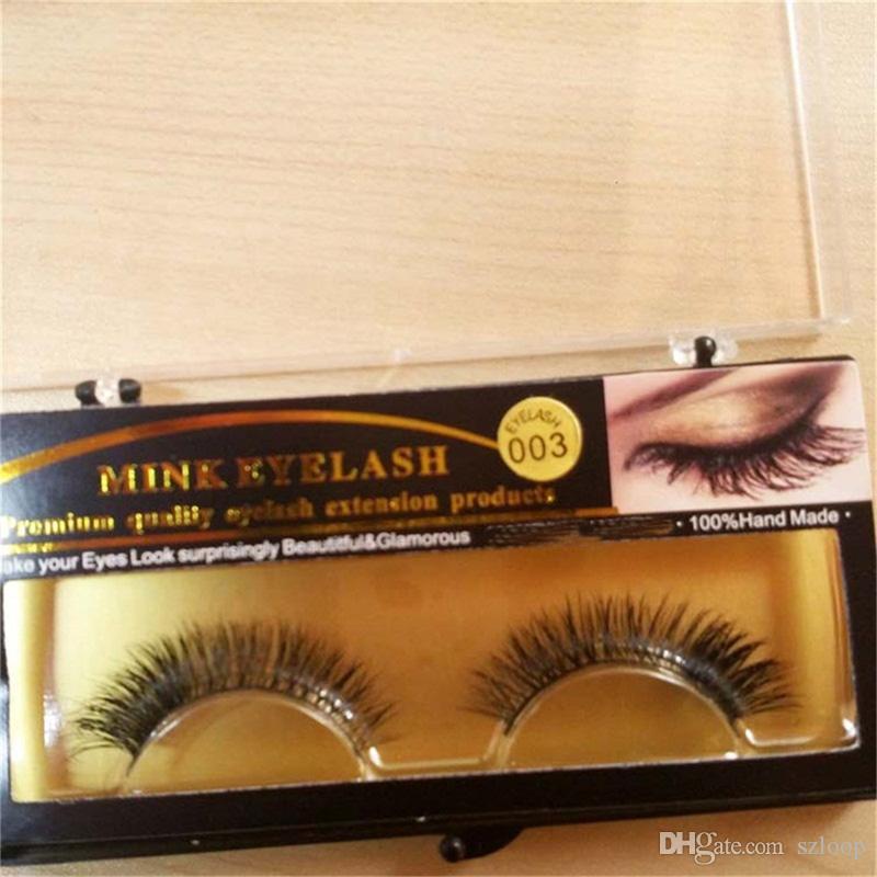 3D Mink False eyelashes 15 Styles Handmade Beauty Thick Long Soft Mink Lashes Fake Eye Lashes Eyelash 3001081