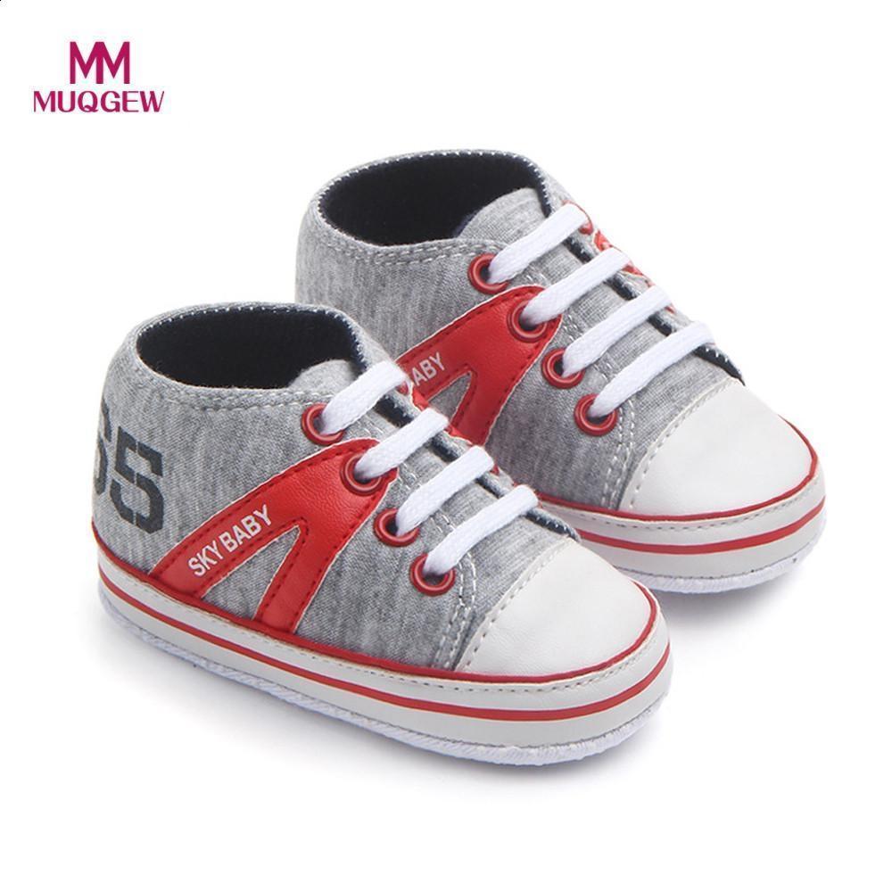 b391537d68d Compre Antideslizante Zapato Recién Nacido Para Niños Caliente Zapatillas  De Deporte Color MUQGEW Niñas Bebé Zapatos Para Bebés Niños Zapatos De Moda  Carta ...