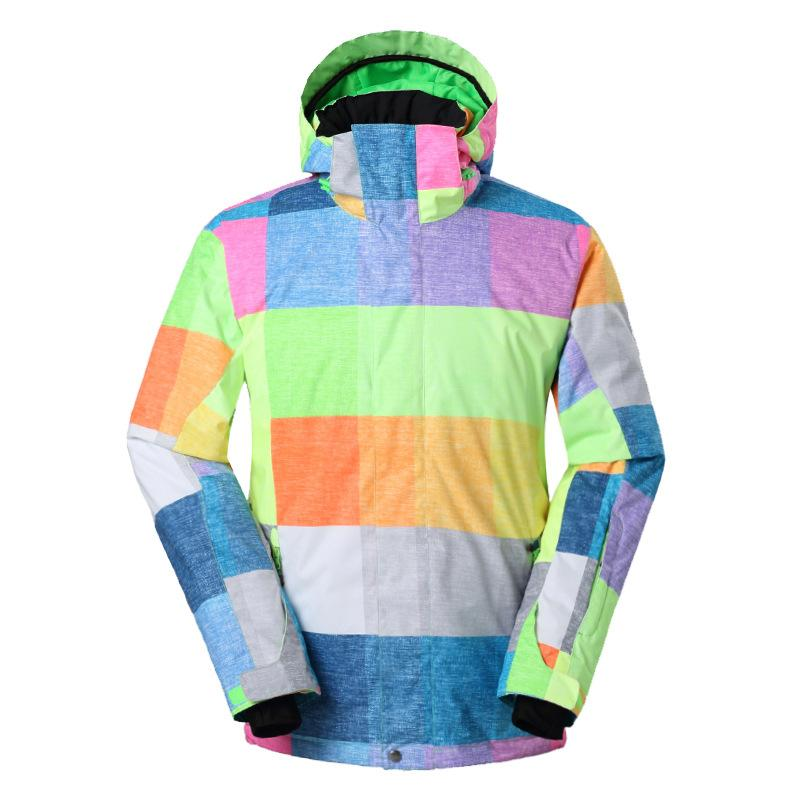 b2076d3e62 GSOU SNOW New Winter Men s Skiing Suit Waterproof Breathable Windproof Ski  Jacket Warm Single Board Double Board Skiing Clothes Skiing Jackets Cheap  Skiing ...