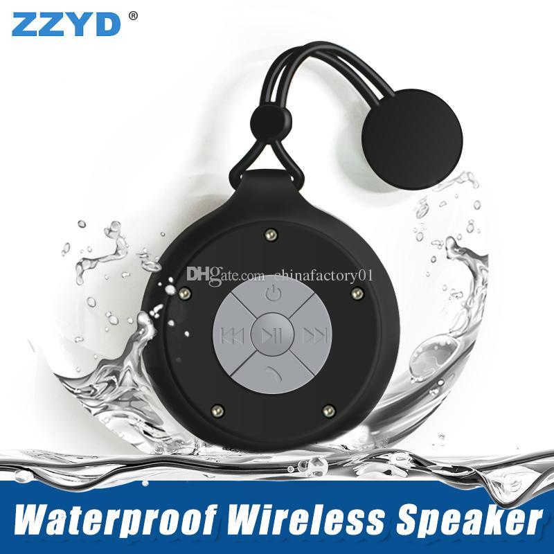 1fde3605281 2019 ZZYD Q50 Bluetooth Speaker Wireless Handsfree Microphone Subwoofer Waterproof  Portable Mini Bluetooth Speaker Bathroom Music Player From Chinafactory01  ...