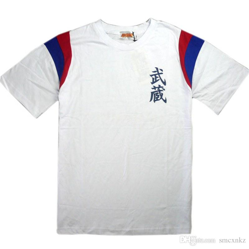 Anime Europa Captain Tsubasa Camisetas Ozora Tsubasa Jersey Camisetas de algodón Cosplay Disfraces Kojiro Hyuga Camisetas de manga corta Camisetas