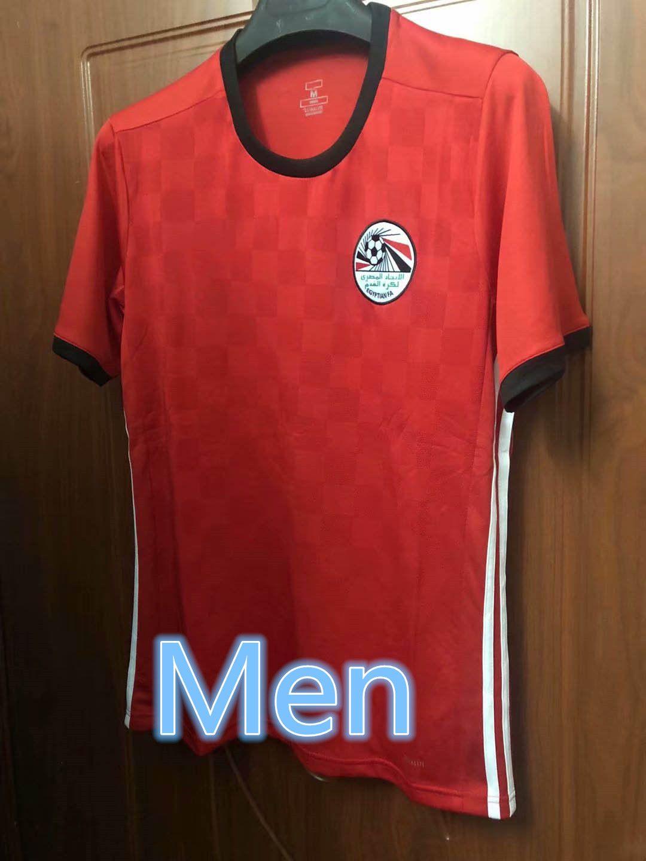 Thai Version 1819 World Cup Egyptian Football Jersey 2018 Mohamed Salah  Men S Football Short Sleeved Training Shirt Aji UK 2019 From Tianzi888 d543390cd