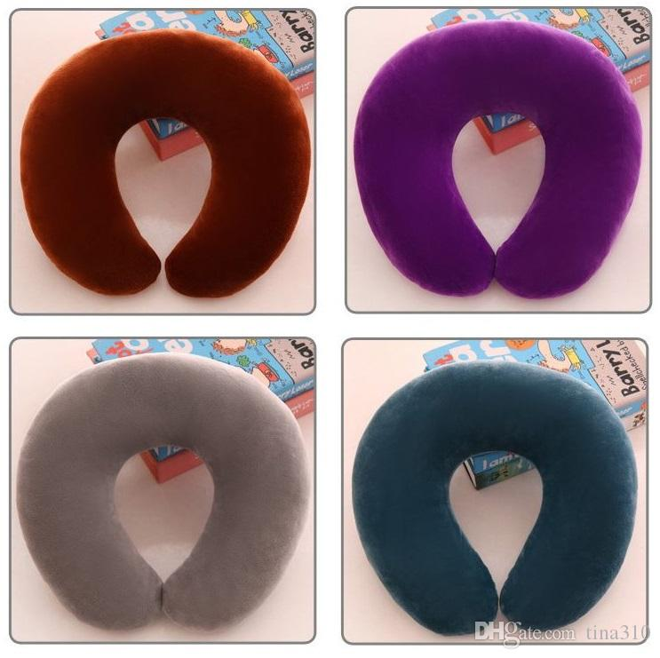 The Selling U type pillow Vehicular neck pillow Plush toys Nap for travel Student pillow T4H0202