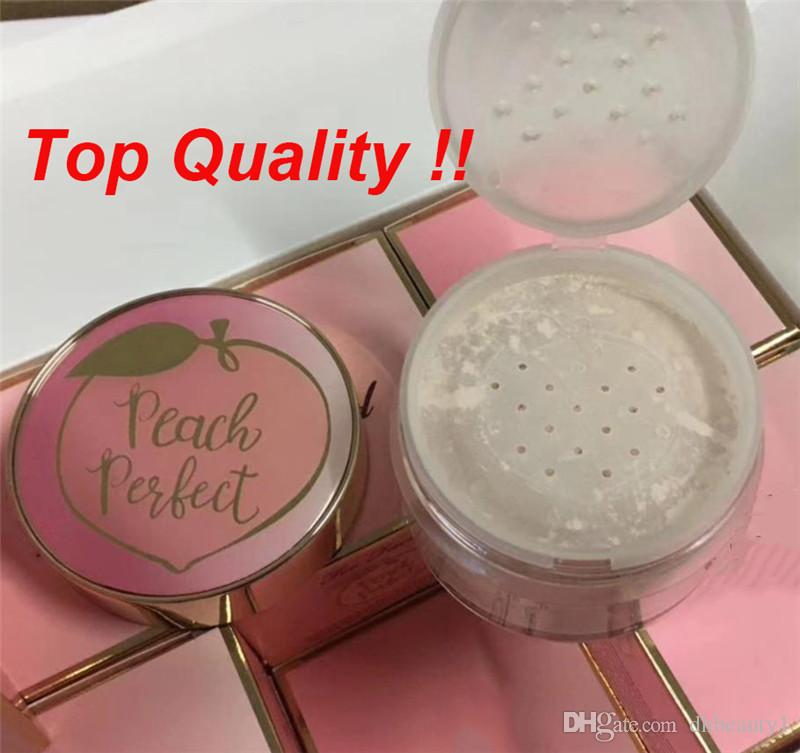 Top A Quality In Stock Peach Perfect Mattifying Loose Setting Powder Fixed  Makeup Mineral Powder 35g dhl shipping