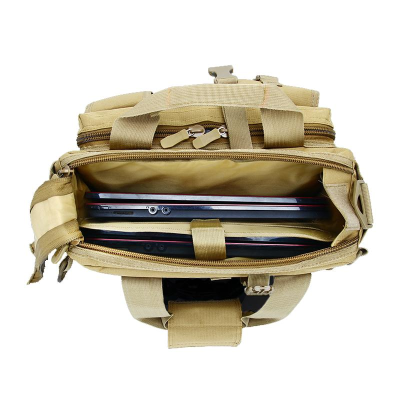 MAGCOMSEN 36x25x29cm Classic Men Briefcase Nylon Durable Laptop Computer Bags Man Camouflage Military Army Work Bags AG-LM-01