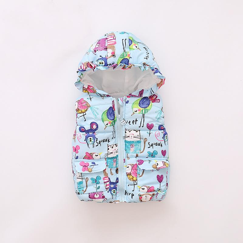 Girls Boys Jacket Fashion Cotton Clothing Kids Coat Baby girl Winter Warm Casual Outerwear For 1-5 Years Old Children Jackets