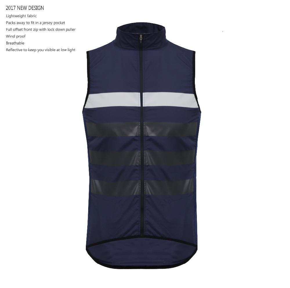 SPEXCEL 2017 Autumn Winter Reflective Windproof Cycling Gilet Bicycle Wind  Vest Sleeveless Jacket Packs Away To Fit In A Jersey Road Bike Clothing Hi  Vis ... 6315a524c