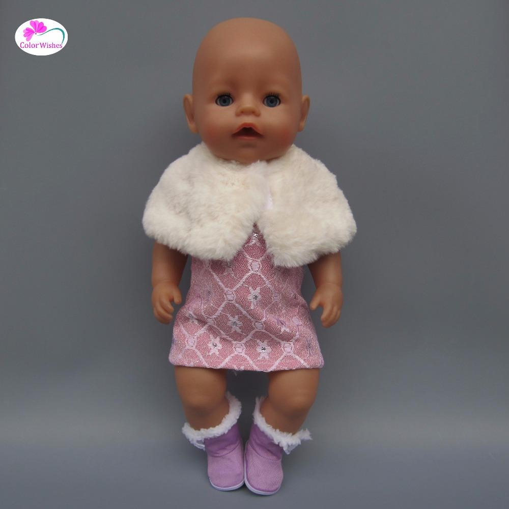 Doll Clothes Fits 43cm-45cm American Girl Baby Born Baby Fashion Dress  Crawling Clothes Doll Shoes Doll Shoes Fashion Doll Shoes American Girl  Online with ... a014098920b4