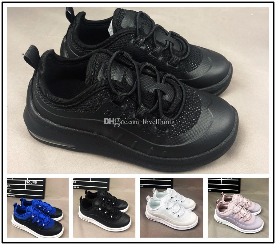 best sneakers 232c4 b8569 Compre Nike Air Max Airmax 98 Glitter Vapormax 97 LX Crianças Runing Shoes  Meninos Corredor Prata Rosa Azul Preto Crianças Ao Ar Livre Da Criança  Meninos ...