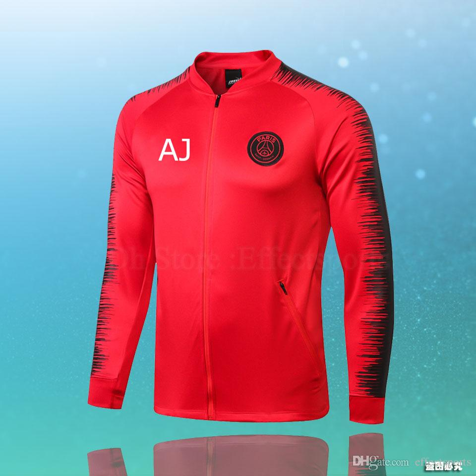 09a572bbb 2019 New MBAPPE Third Hoodie PSG Soccer Training Suits 18 19 ...