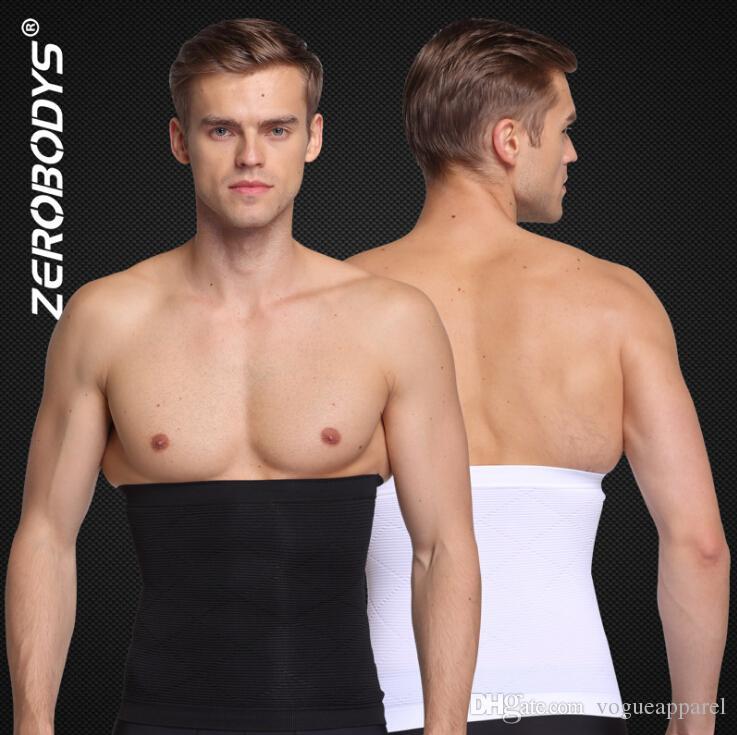 Zerobodys Uomo Vita Cincher Cintura Dimagrante Body Shaper Cintura addominale Cintura addominale Shapewear Vita Shaping l'uomo Intimo