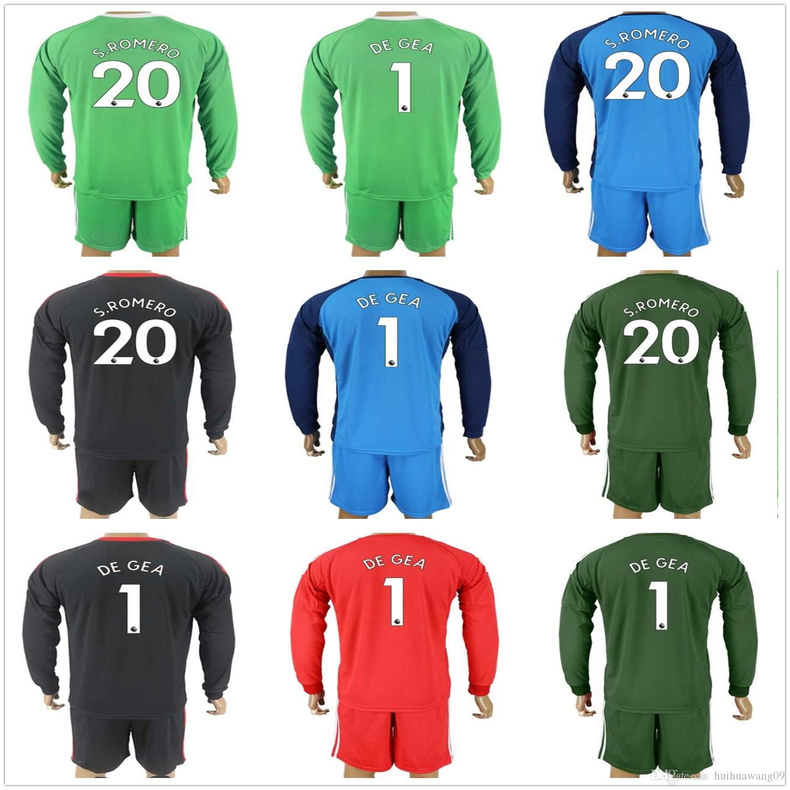 new arrivals ab9b5 19422 argentina 1 romero red goalkeeper 2018 fifa world cup soccer ...