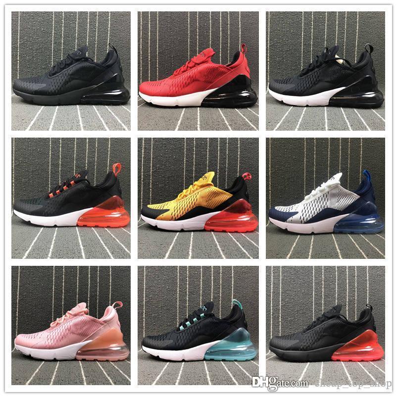 on sale 381d8 c5501 Acheter Nike Air Max Airmax 2018 En Gros De Haute Qualité Hommes Coussin  Chaussures Décontractées Flair Triple Noir 270 Ah8050 Sport Formateurs  Femmes ...