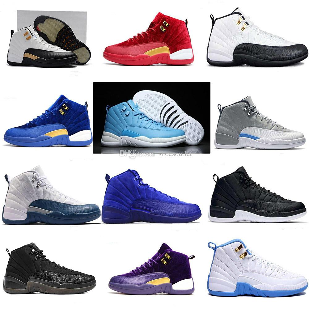 e5af271356ac High Quality Jd 12 12s Mens Women Air Basketball Shoes OVO White Gym Red  Grey Taxi Suede Flu Game Running Sports Trainers Sneakers Men Sports Shoes  Shoe ...