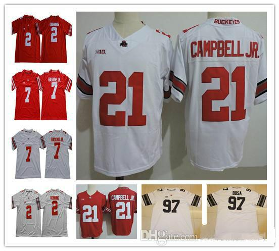 dc6bb556dfb Ohio State Buckeyes 21 Parris Campbell 2 JK Dobbins 7 Dwayne Haskins ...