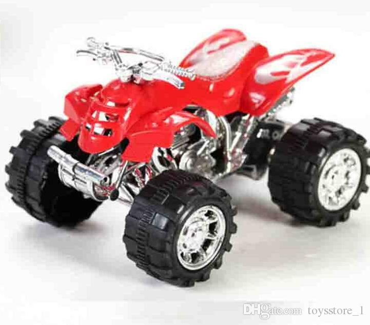 Pull Back Kids Toy Motorcycle Mini New Four-Wheeled Off-Road Motorcycle Stalls Children toys Wholesale
