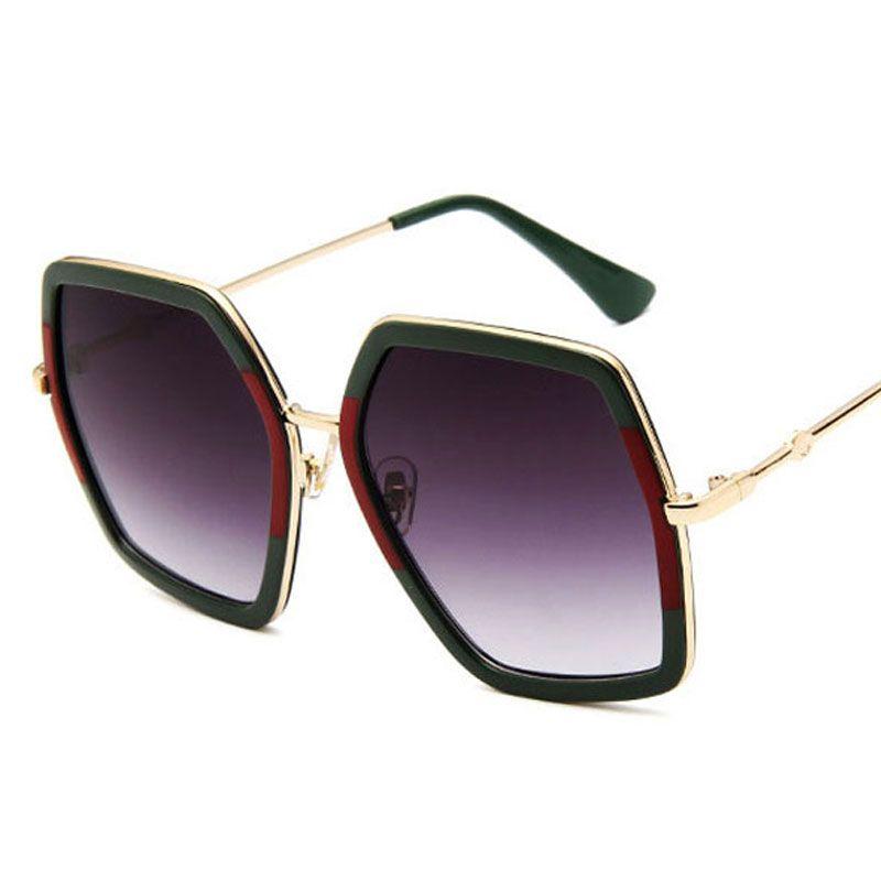 421c17a46d Fashion New Square Luxury Sun Glasses Brand Designer Ladies Oversized  Crystal Sunglasses Women Big Frame Mirror Sun Glasses For Female UV400  Boots ...