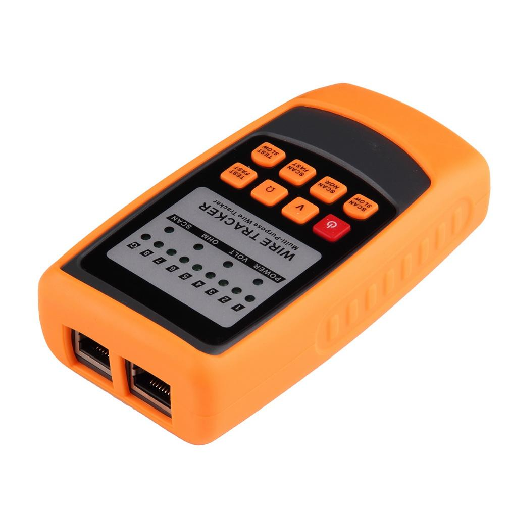 Tracker Phone Line Network Finder Rj11 Rj45 Wire Tracer Featured Electrical Circuit Tracers And Testers At Test Equipment Cable Tester Online With 7384 Piece On