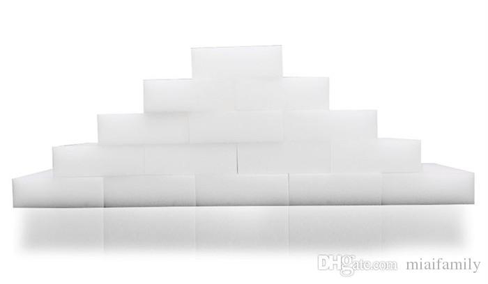 200 قطع 10 * 6 * 2 cm الأبيض ماجيك تنظيف الميلامين الإسفنج ممحاة جودة عالية ماجيك الإسفنج إسبونجا ماجيكا سوبر تنظيف هلام