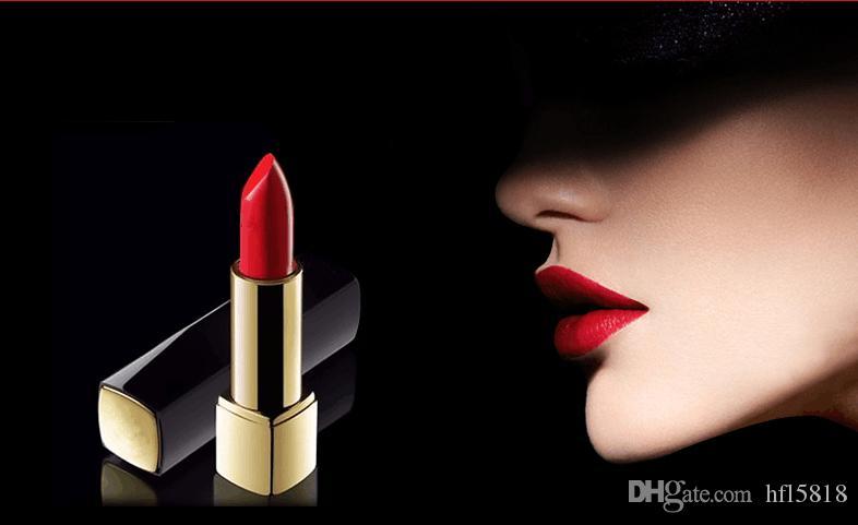 العلامة التجارية الجديدة ماكياج أعلى جودة روج جاذبية المخملية ماتي أحمر الشفاه 3.5g أعلى جودة اضغط على أحمر الشفاه أنبوب الألومنيوم
