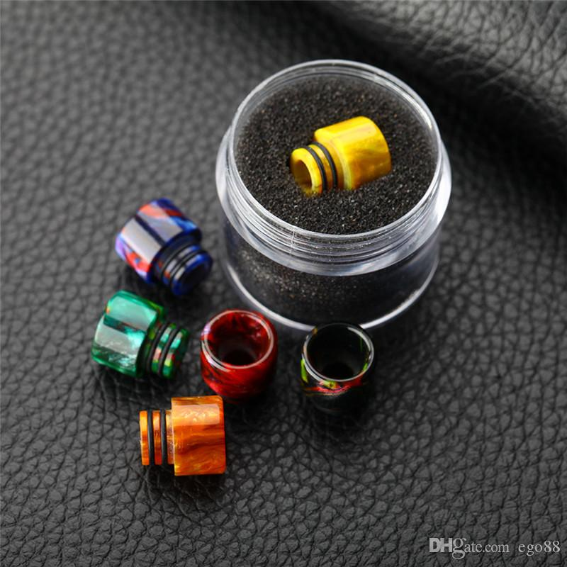 drip tip Clearomizer Mouthpiece 510 Thread Epoxy Resin TFV8 Big baby drip tips mouthpiece for TFV8 baby