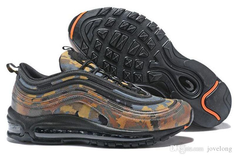a090ee3909 2018 New 97 Country Camo Japan Italy UK Army Green Running Shoes Men ...