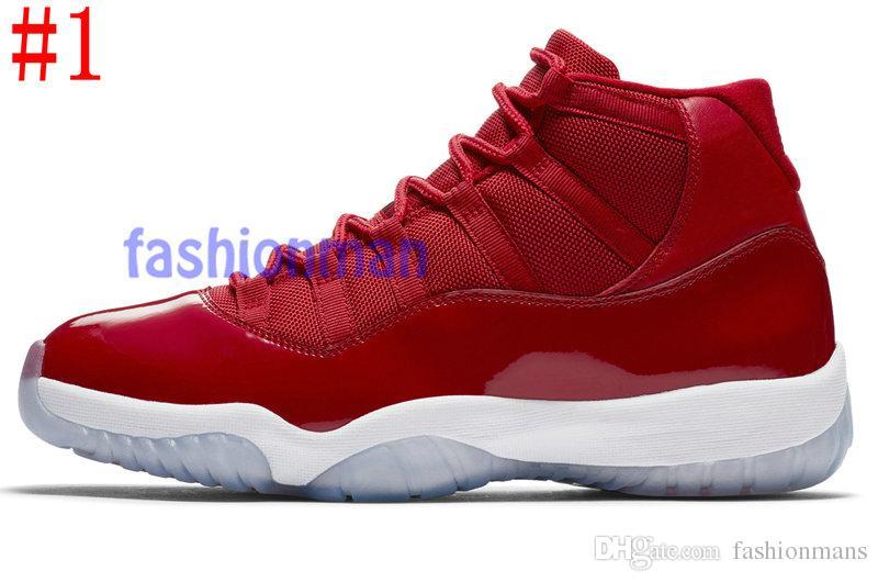 chaussures  Concord High 45 11 XI air jordan 11 PRM Heiress Gym Rouge Chicago Platinum Tint Space Jams Hommes de basketball baskets