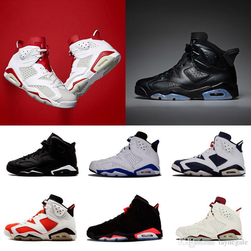 Cheap High Quality Shoes 6 Metallic Gold Men Basketball Shoes 6s