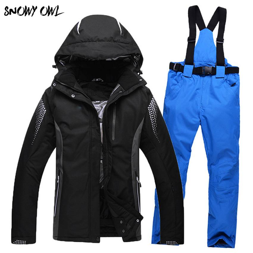 2019 High Quality Outdoor Winter Snowboarding Suit Men And Women Couple  Models Ski Jackets And Pants Thick Warm Waterproof H300 From Jingtianwat 0afb88d53