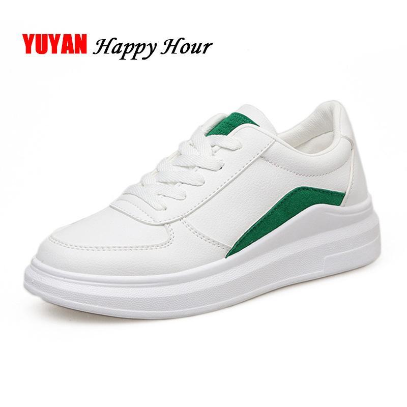 a350dd9ead Compre Sapatilhas Da Moda Sapatas Das Mulheres Marca De Moda Sapatos  Brancos Flats Das Mulheres Mulher Sapatos Casuais Macio E Confortável YX469  De Baby911
