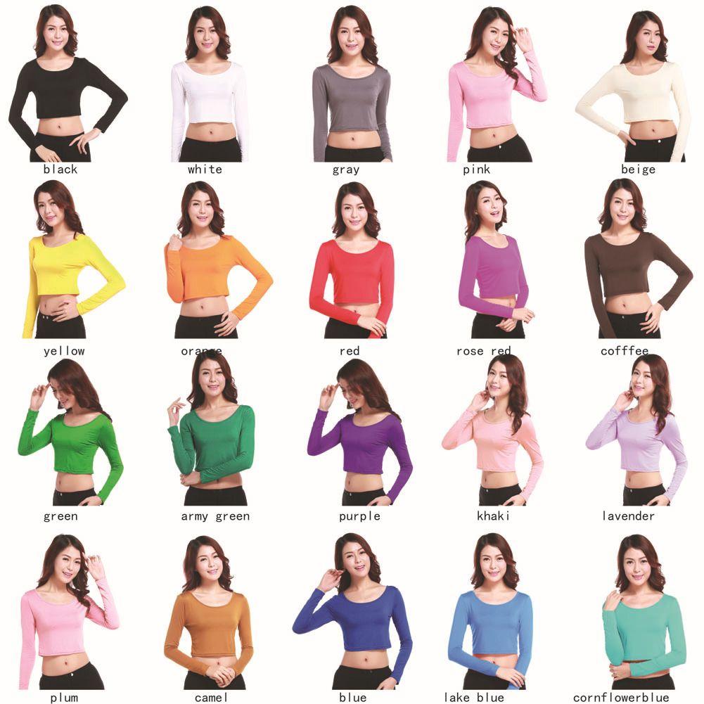 2cff9d14a5b30e Women Muslim T Shirt Long Sleeve Full Length Short Shirt Ladies Undershirts  Underwear Bottom Modal Turkey T Shirts Plus Size Clothing Awesome Tee  Different ...